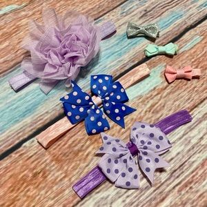 Baby Girl Hair Bows and Clips